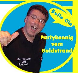 Partykoenig vom Goldstrand